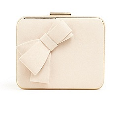 Phase Eight Pink Allie Bow Front Box Bag