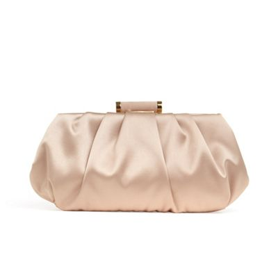 Phase Eight Pink Minnie Satin Clutch Bag | Debenhams