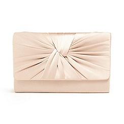 Phase Eight - Pink gemma twist front clutch bag