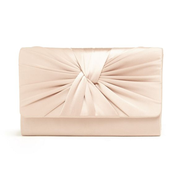 Phase twist gemma Eight bag clutch front Pink HqrFaWnH
