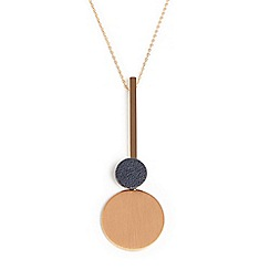 Phase Eight - Natural Gia tab long necklace
