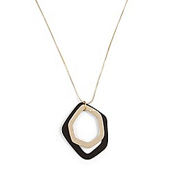 Phase Eight - Black corrina mixed colour necklace