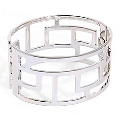 Phase Eight - Metallic evelyn cage cuff bracelet