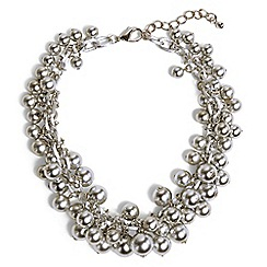 Phase Eight - Metallic betty jumble statement necklace