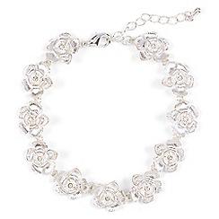 Phase Eight - Metallic aya flower bracelet