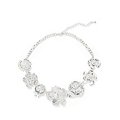 Phase Eight - Aya Formed Flower Statement Necklace