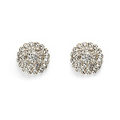 Phase Eight - Metallic aideen crystal stud  earrings