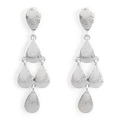 Phase Eight - Metallic Alison Teardrop Drop Earrings