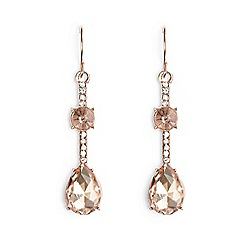 Phase Eight - Rose gold alannah teardrop stud earrings