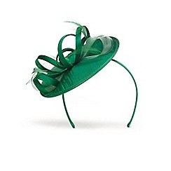 Phase Eight - Green sammy small disc fascinator