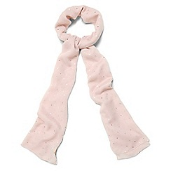 Phase Eight - Pink tallly mini star print scarf