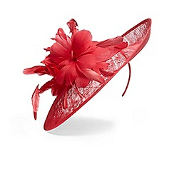Phase Eight - Pink rita flower disc fascinator