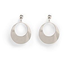 Phase Eight - Metallic launa twisted drop earrings