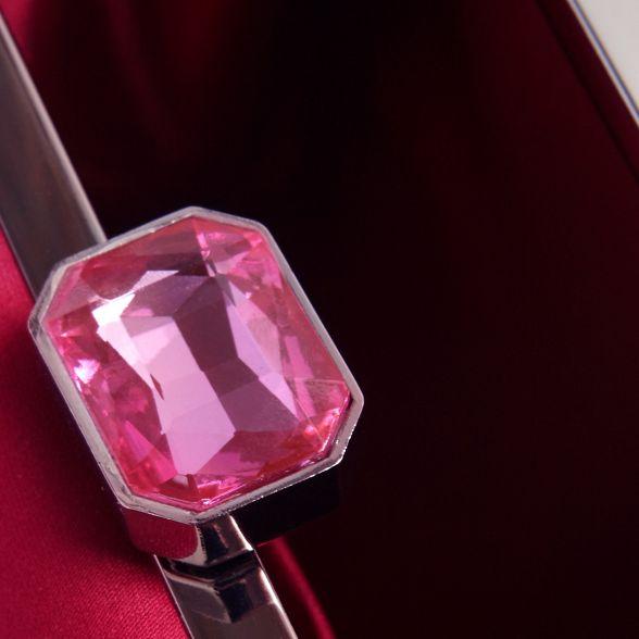 emele Purple box satin jeweled Eight Phase clasp clutch qYx5Ew8p8