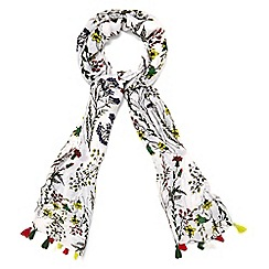 Phase Eight - Multicoloured Chessie Bright Sketchy Floral Scarf