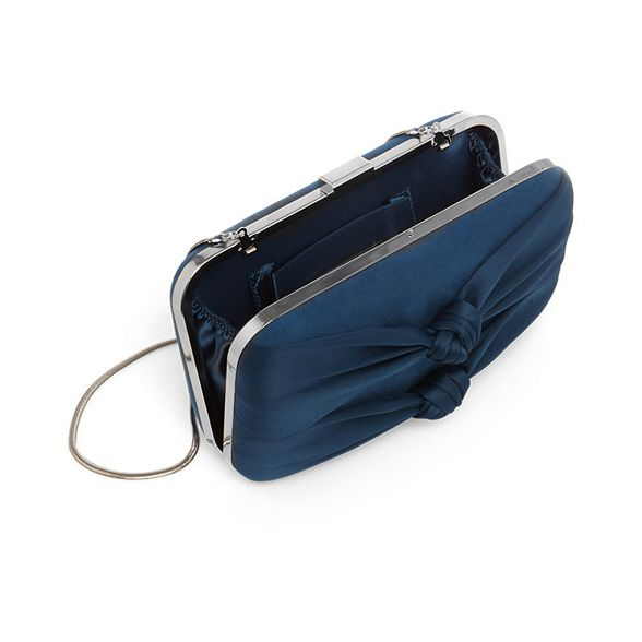 knotted bag box clutch bonnie Phase Eight Blue 6PRZcSF