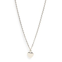 Phase Eight - Metallic jana heart charm necklace