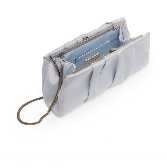 Blue louisa Eight Phase bag satin clutch 1qCEEw5