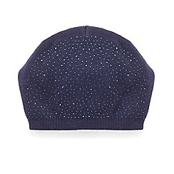 Phase Eight - Navy olivia embellished beanie