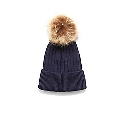 Phase Eight - Blue tori pom pom hat
