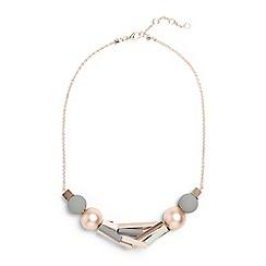 Phase Eight - Multicoloured hana bead and tube necklace