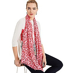 Phase Eight - Multi Rosabelle Heart Print Scarf
