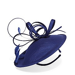 Phase Eight - Blue sienna twist top disc fascinator