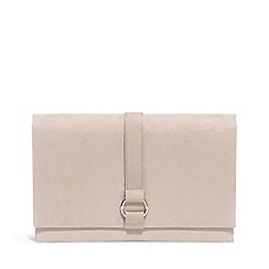 Phase Eight - Brown Giselle Grosgrain Trim Clutch Bag