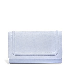 Phase Eight - Blue faye foldover clutch bag