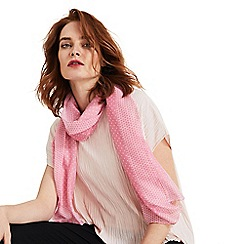 Phase Eight - Pink Lorna Spot Border Scarf