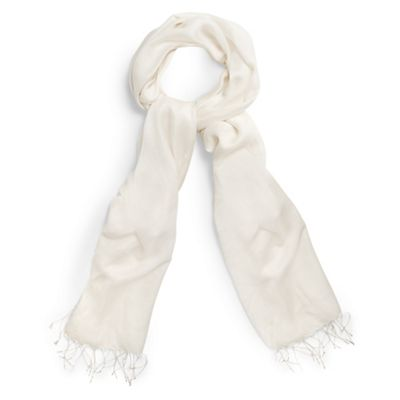 Studio 8   Cream Pia Shawl by Studio 8