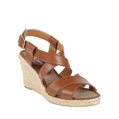Phase Eight - Tilly Leather Wedge Shoes