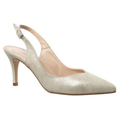 Phase Eight - Samara suede sling back shoes