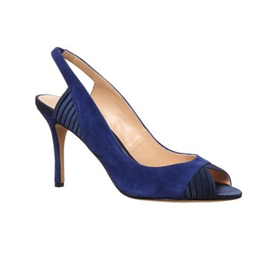 Phase Eight - Carey suede peep toe sandals