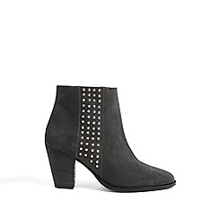 Phase Eight - Charcoal sage studded ankle boots