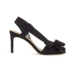 Phase Eight - Blue allie bow front asymmetric sandals