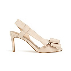 Phase Eight - Pink allie bow front asymmetric sandals