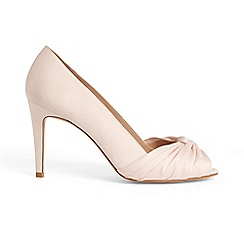 Phase Eight - Pink minnie knot front peep toe shoes