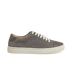 Phase Eight - Grey flora suede trainers