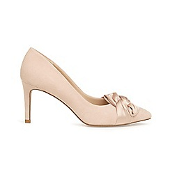 Phase Eight - Pink gemma twist front pointed court shoes