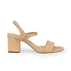 Phase Eight - Natural isobel block heel sandals