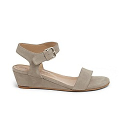 Phase Eight - Grey barbara demi wedge sandals