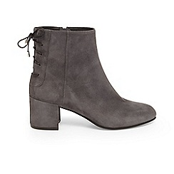 Phase Eight - Grey valentine lace back boots