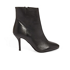 Phase Eight - Black grecy leather ankle boots
