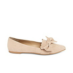 Phase Eight - Pink salome side bow flat shoes