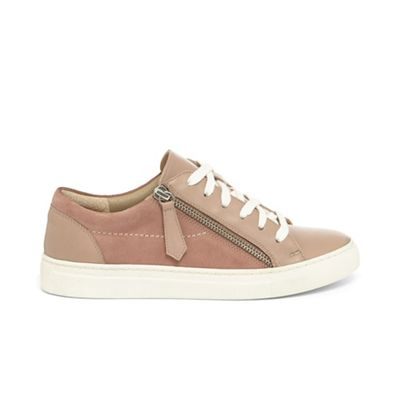 Phase Eight - Pink skyla side zip trainers