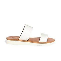 Phase Eight - White anita band sandals
