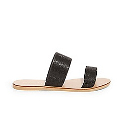 Phase Eight - Black juniper diamante band sandals