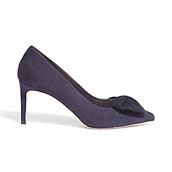 Phase Eight - Purple bianca bow court shoes