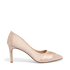 Phase Eight - Pink rosie satin court shoes